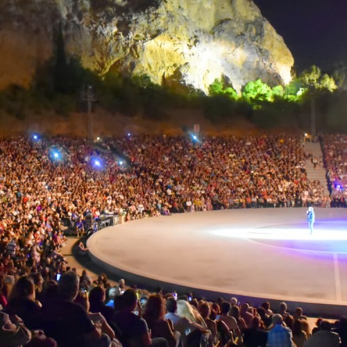 Greek Singers in Athens Parios Concert