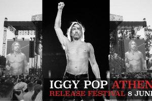 IGGY POP Athens Release Festival