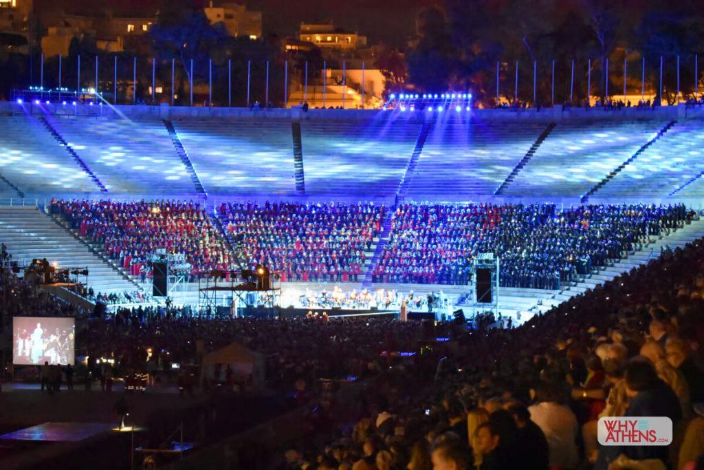 Panathenaic Stadium Athens Concert