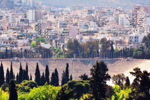 Panathenaic Stadium Athens Panorama