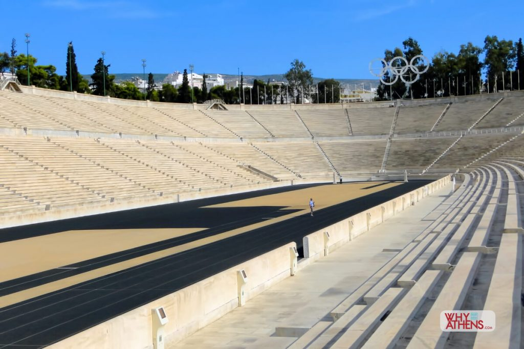 Panathenaic Stadium Athens Seating Track