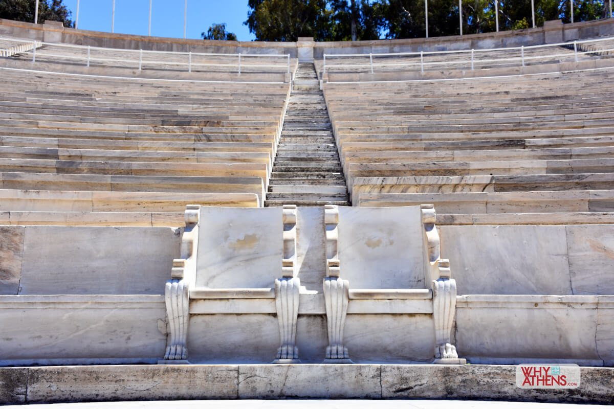Panathenaic Stadium Athens Thrones