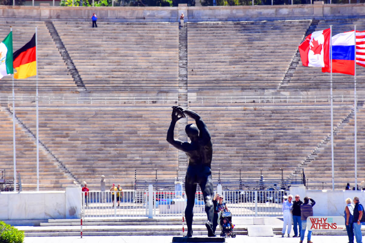 Panathenaic Stadium Discus Thrower Athens