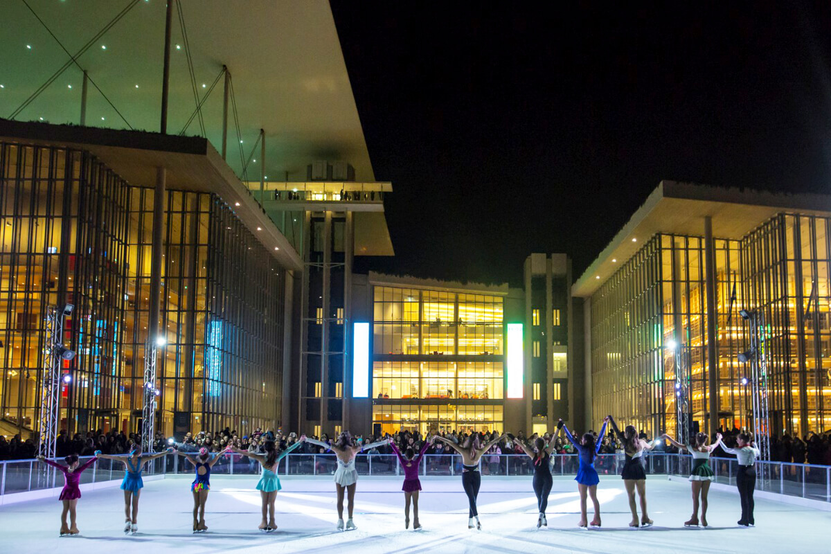 Stavros Niarchos Center Athens Ice Skating