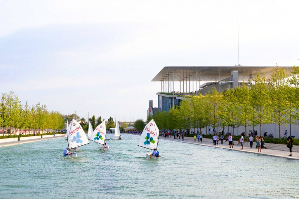Stavros Niarchos Center Athens Sailing Canal I