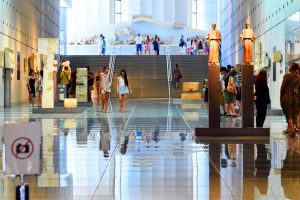 Acropolis Museum Events Gallery Slopes Athens