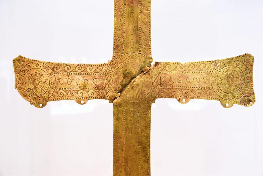 Byzantium First Millenium Byzantine Museum Athens Cross