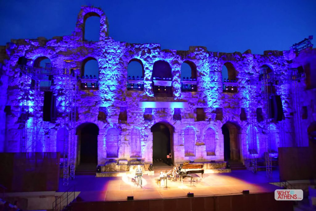 Frogs Athens Odeon Herodes