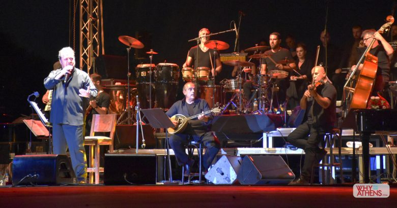 Yiannis Parios Concert Athens Greek Singers