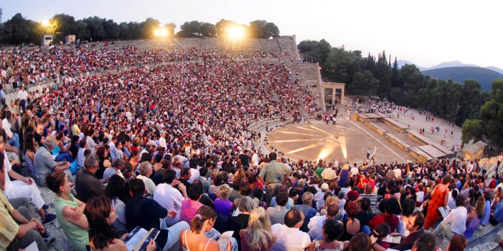 What to do in Athens in August Epidaurus Theatre