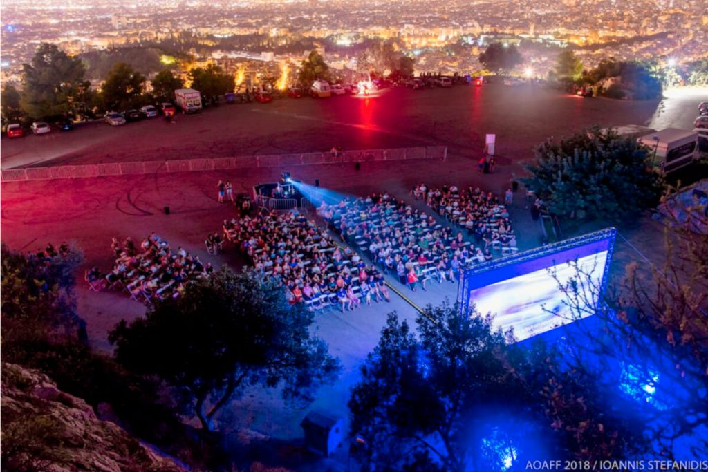 Athens Open Air Film Festival Lycabettus