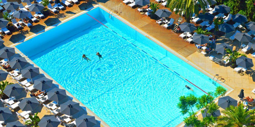 Hilton Hotel Athens Pool