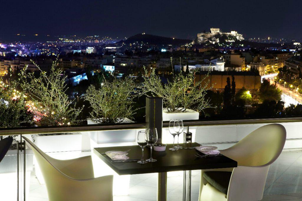 Hilton Hotel Athens Galaxy Restaurant