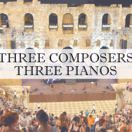 Three composers Odeon Herodes Athens