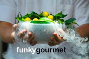 Funky Gourmet Athens Orange Explosion
