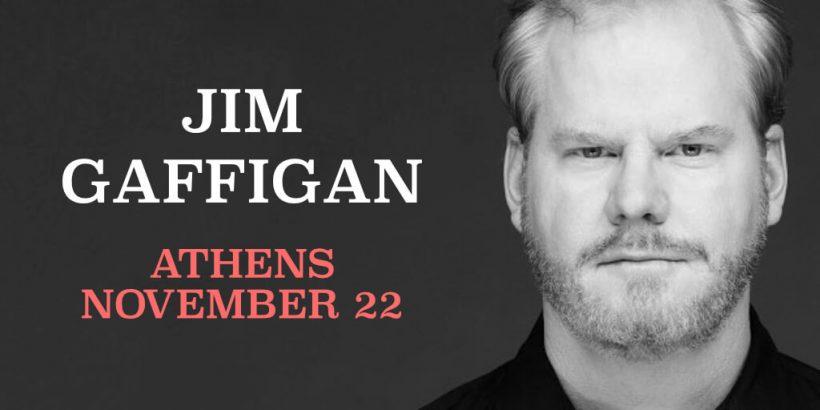Jim Gaffigan Athens Greece