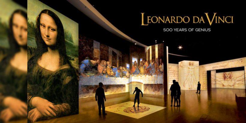 Leonardo Da Vinci Athens 500 years
