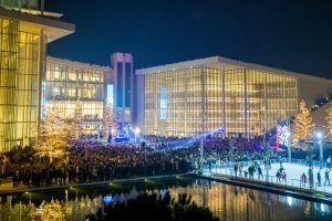 Stavros Niarchos Center Athens Christmas Ice Skating