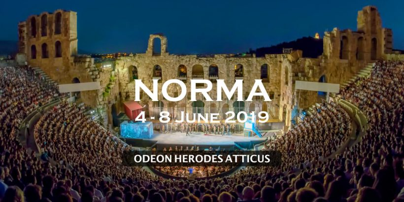 Norma Odeon Herodes Athens Festival National Opera