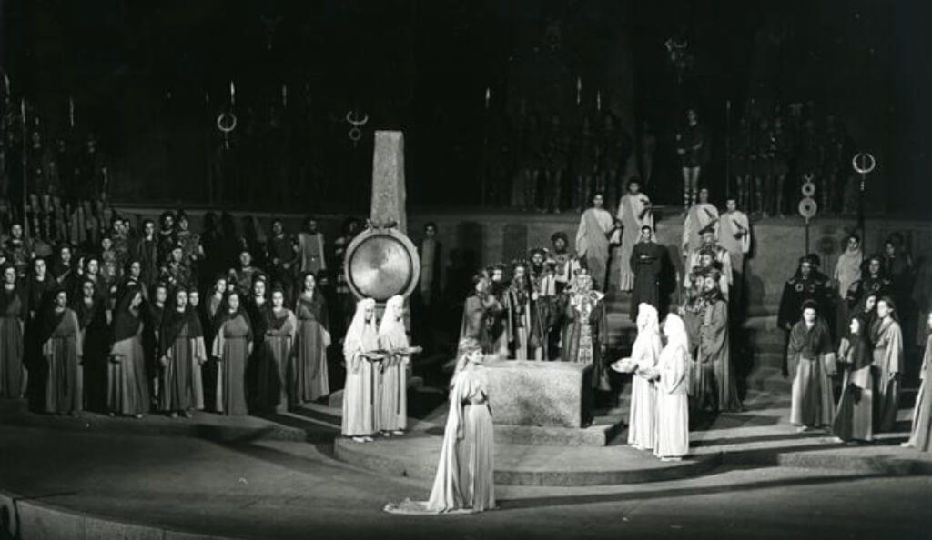 Norma Odeon Herodes Athens Festival National Opera Callas