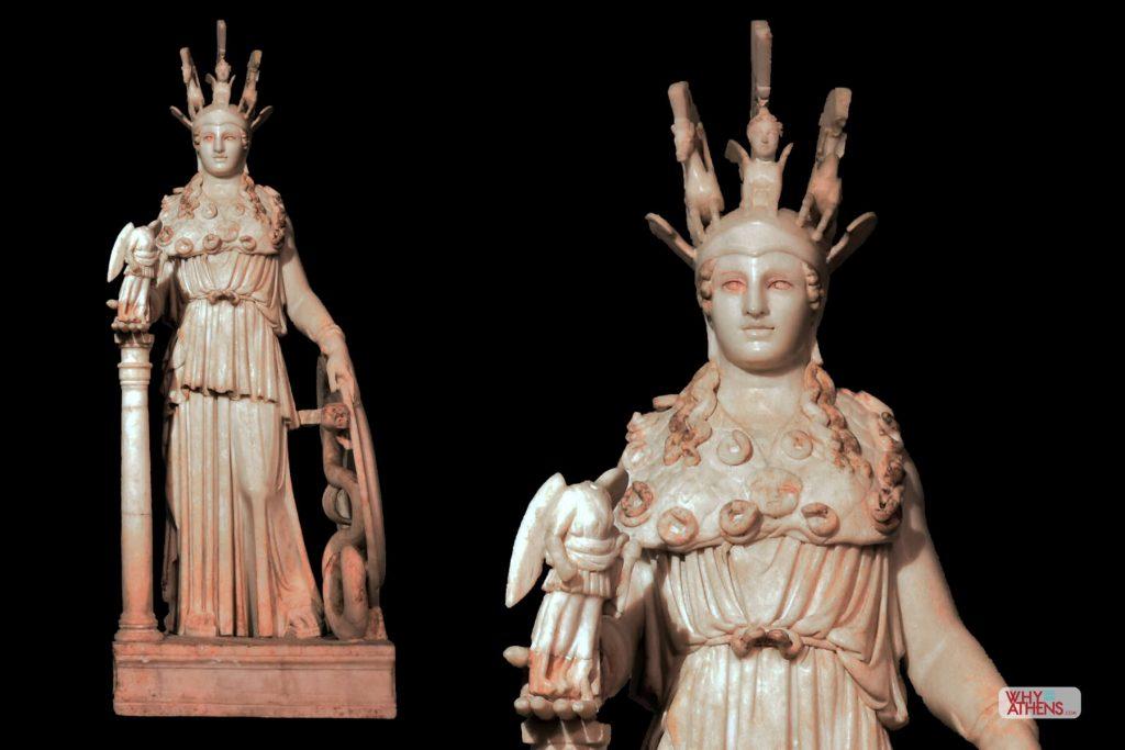 Acropolis Pericles Athena Parthenos