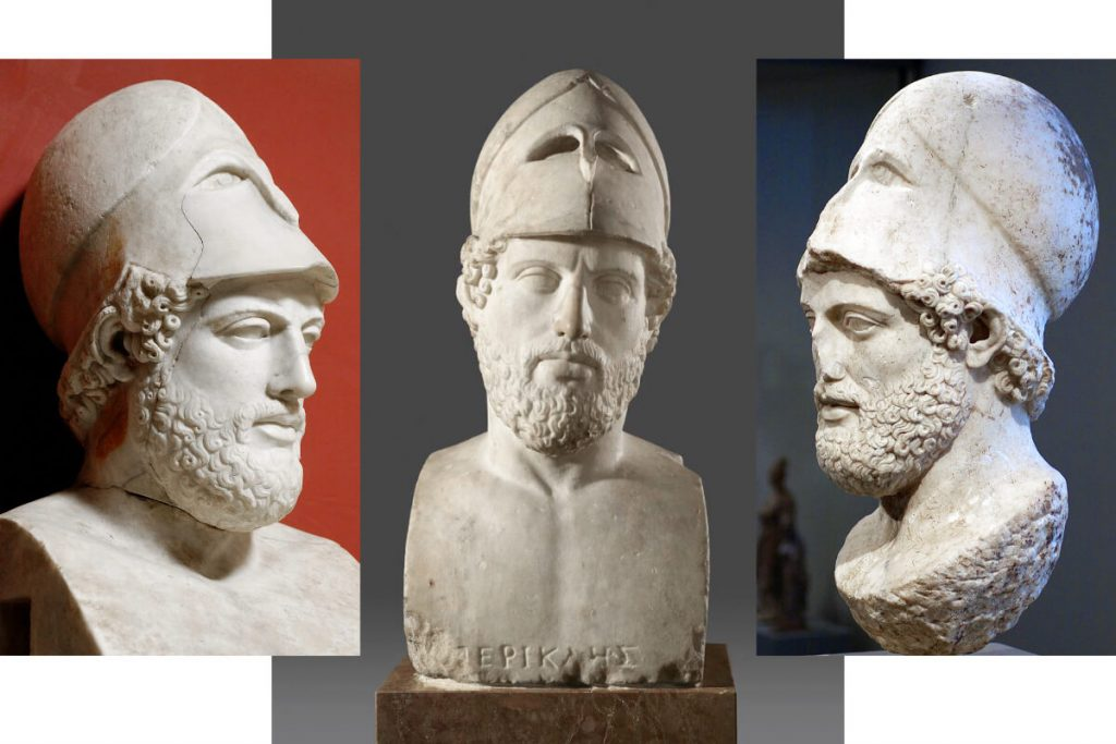 Acropolis Pericles Busts Portaits