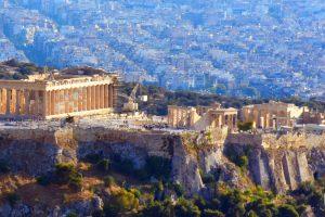 Acropolis Pericles Parthenon Landscape