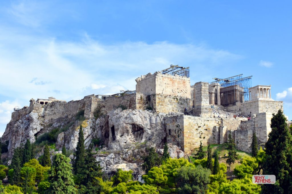 Acropolis Pericles Walls Fortification