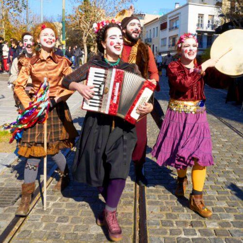 apokries carnival Athens Plaka