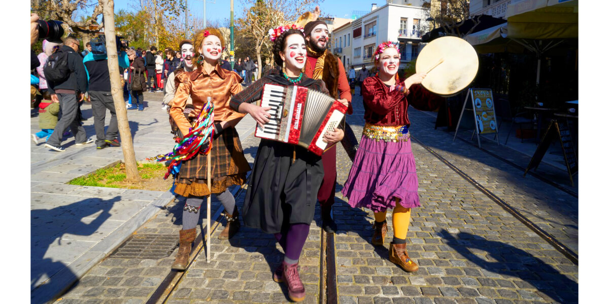 Francois Illas New Tradition: APOKRIES CARNIVAL IN ATHENS - Programme Of Events