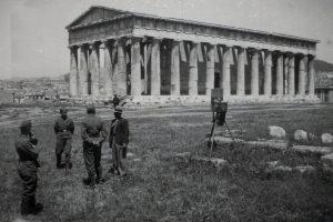 Athens WWII Photographs Hephaestus