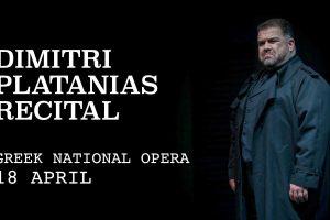 Dimitri Platanias Recital Greek National Opera
