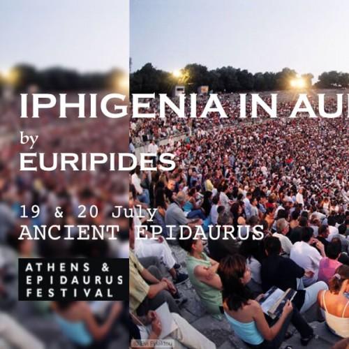 Iphigenia Aulis Epidaurus Theatre Athens Festival