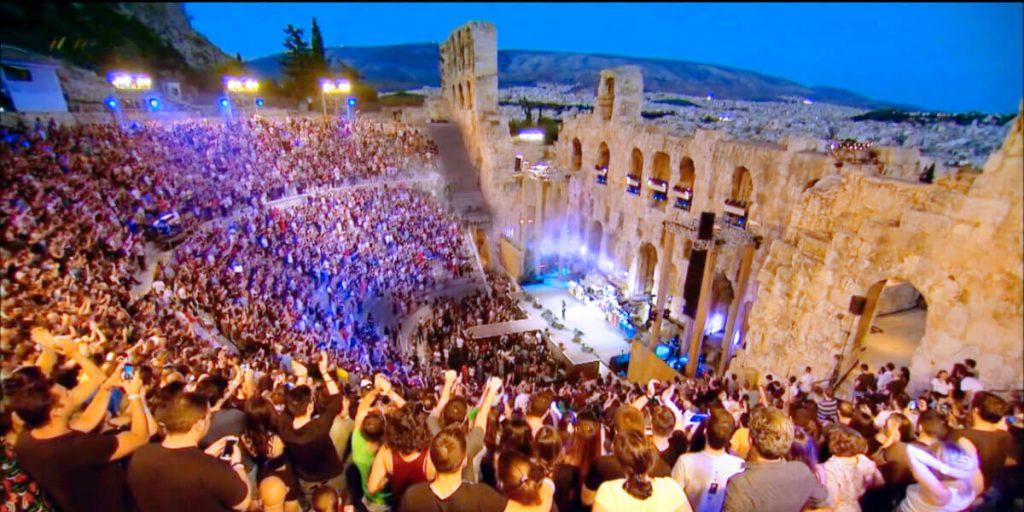 Jethro Tull Odeon Athens