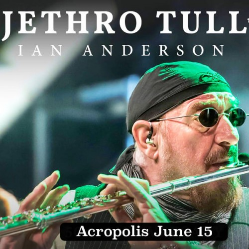 Jethro Tull Odeon Athens Festival