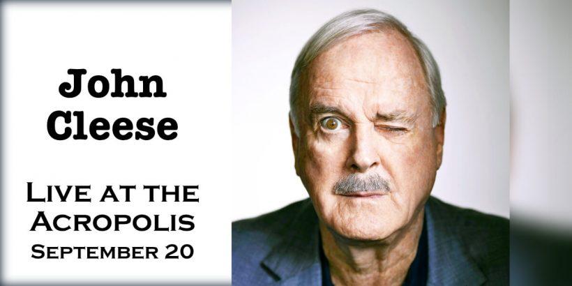 John Cleese Live Acropolis Athens