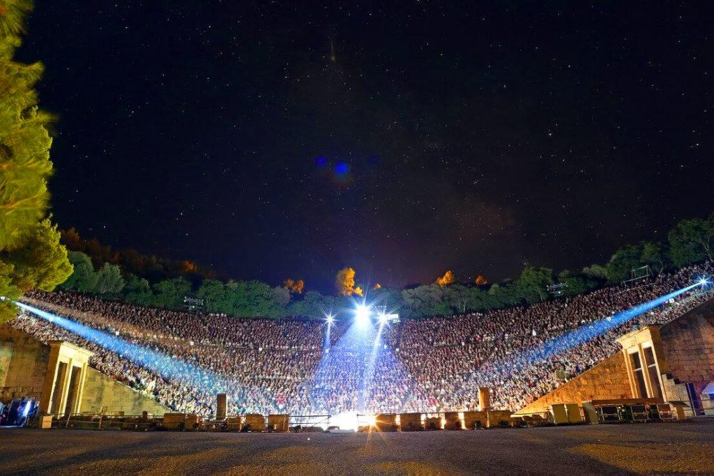 Oedipus Rex Epidaurus Theatre Athens Festival