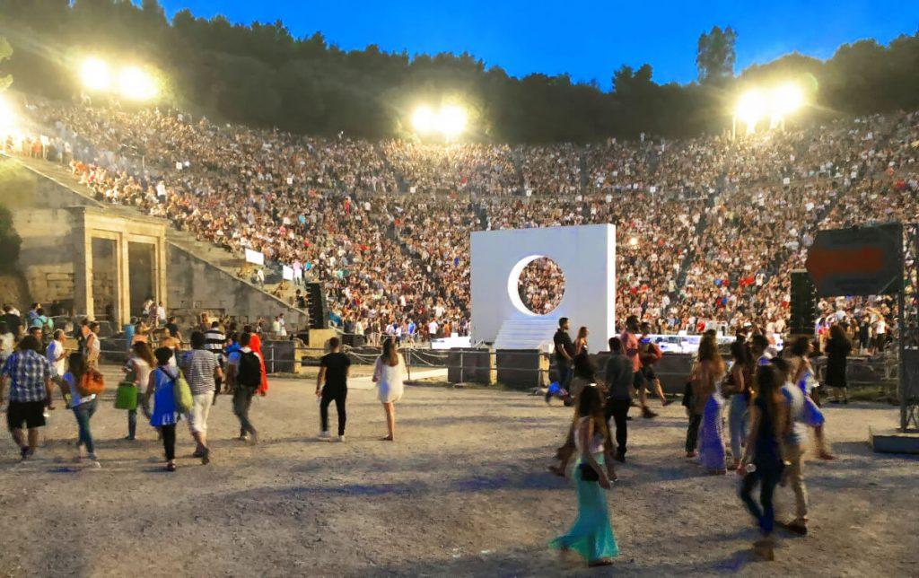 Prometheus Bound Epidaurus Theatre Athens Festival