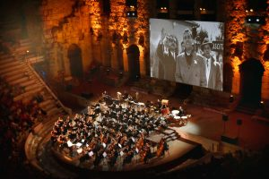Steven Spielberg Odeon Athens Festival