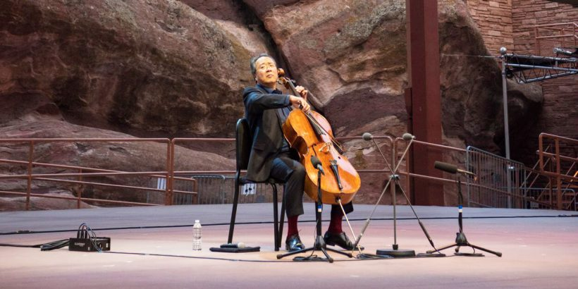 YO-YO MA solo cellist at the Odeon of Herodes Atticus
