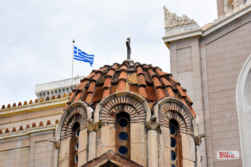 Byzantine Churches Athenian Dome
