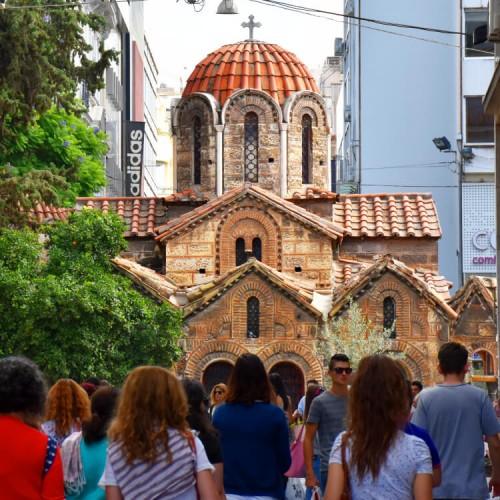 Byzantine Churches Athens Panagia Kapnikarea