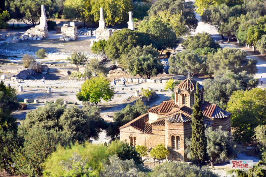 Byzantine Churches Athens Holy Apostles Agora