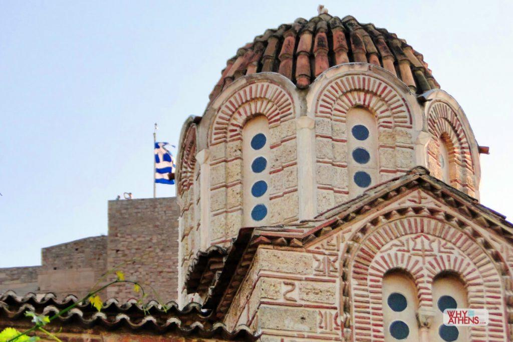 Byzantine Churches Athens Nikolaos Rangavas