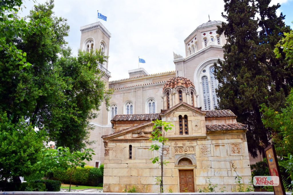 Byzantine Churches Athens Little Metropolis