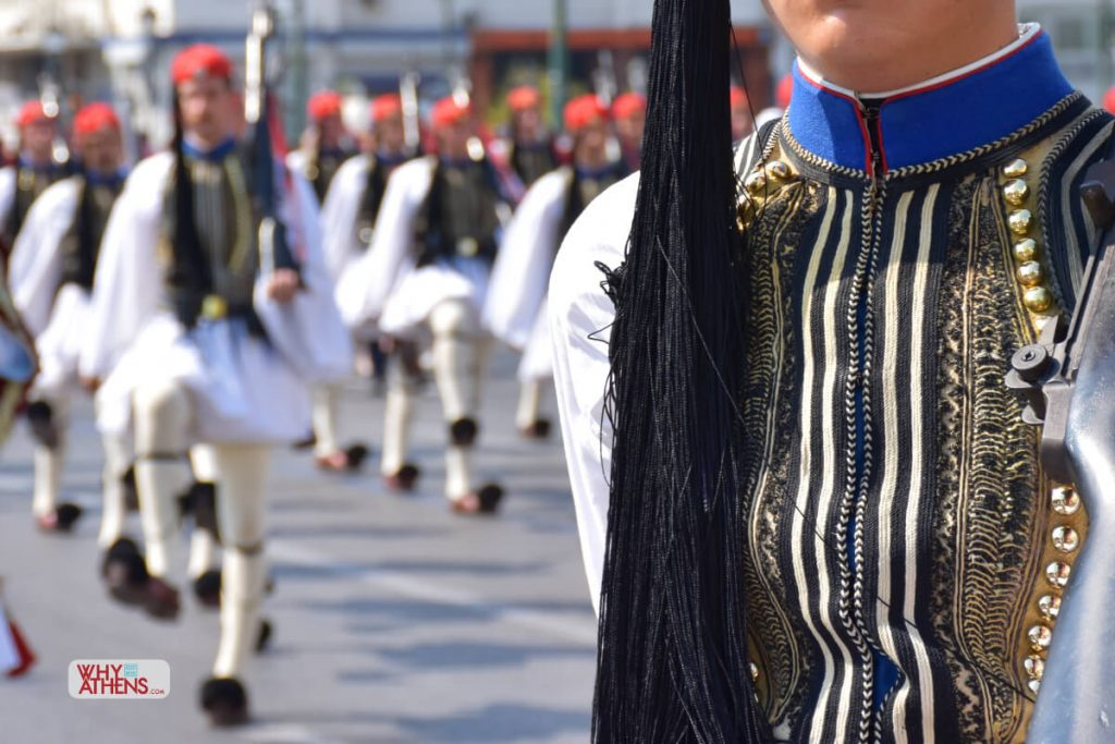 Evzones Uniform Fermeli Greek Soldier