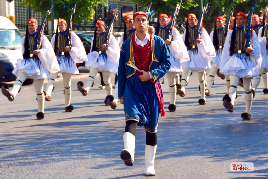 Evzones Uniform Islands Greek Soldier