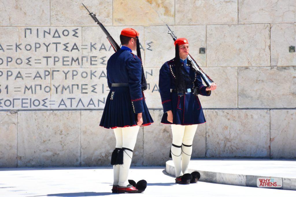 Evzones Uniform Winter Greek Soldier