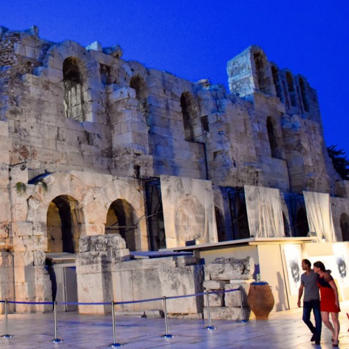 odeon Herodes Atticus Why Athens