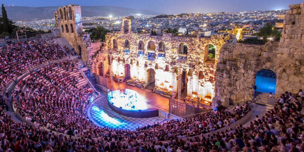 Athens Festival Odeon Dimitris Mystakidis